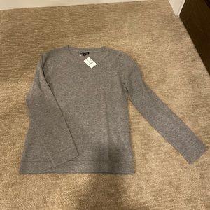 J. Crew NWT Grey sweater